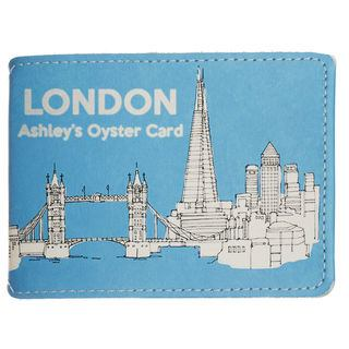 Personalised card wallet UK design