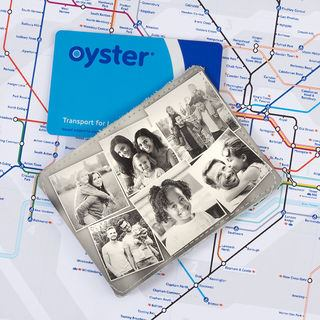 personalised credit card holder for oyster