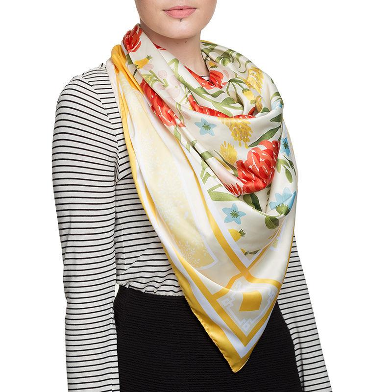 impression sur foulard personnalisé