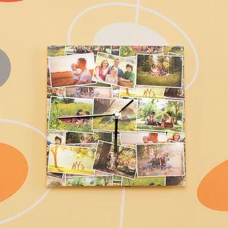 Reloj de pared personalizado collage