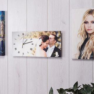 Reloj de pared impreso con fotos