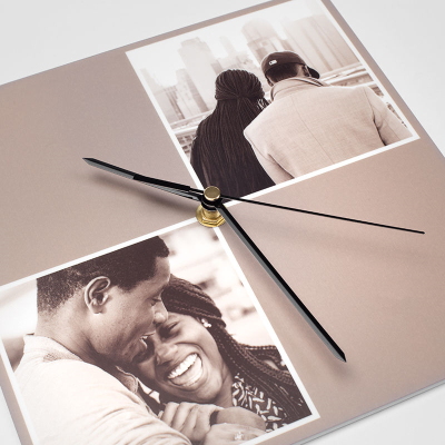 fun engagement clock for couples