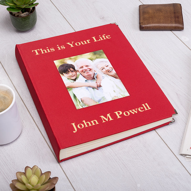 This is Your Life photo memory Book