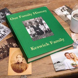 Quality family photo album printing