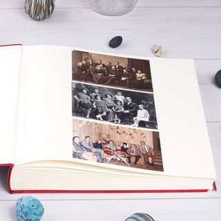 Interior pages of Book of Life photo album