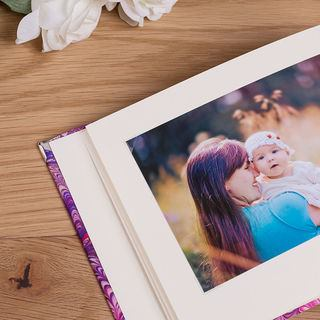 baby photo scrapbook print your own cover
