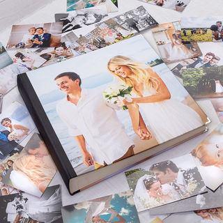 personalisiertes Hochzeits Fotoalbum gestalten