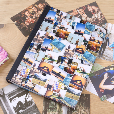álbum de fotografías scrapbooking