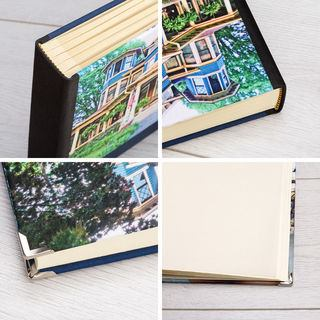 Printed Photo Album corners and details