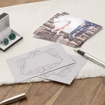 Reserveer de datum verlovings postkaarten