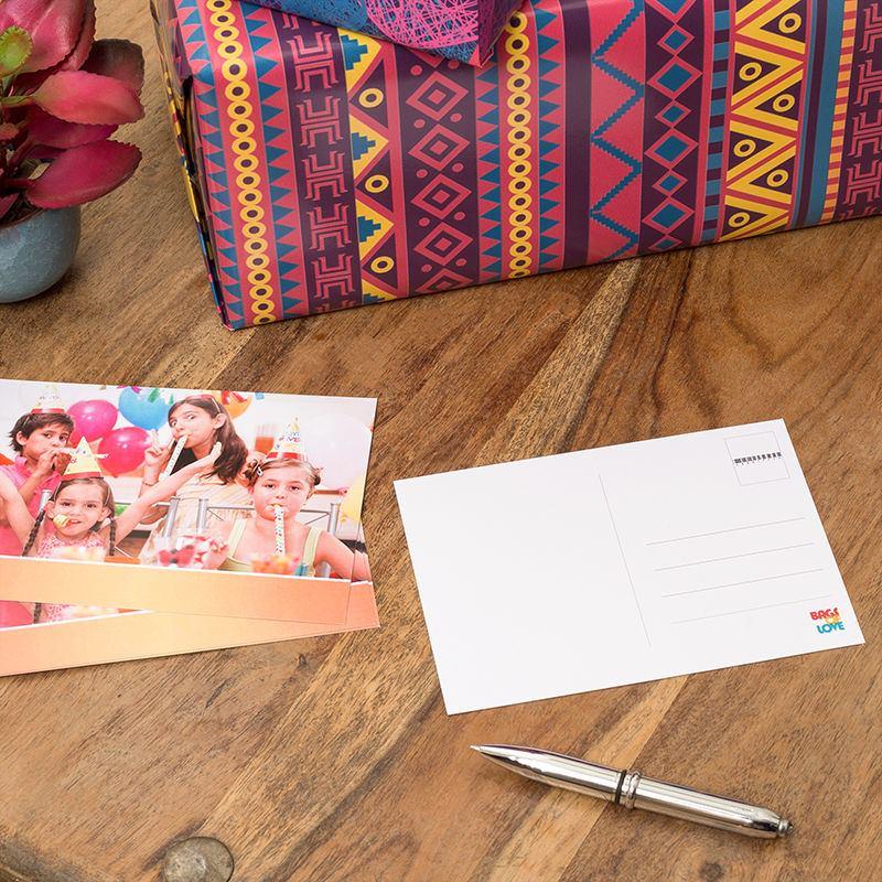 Order custom made postcards