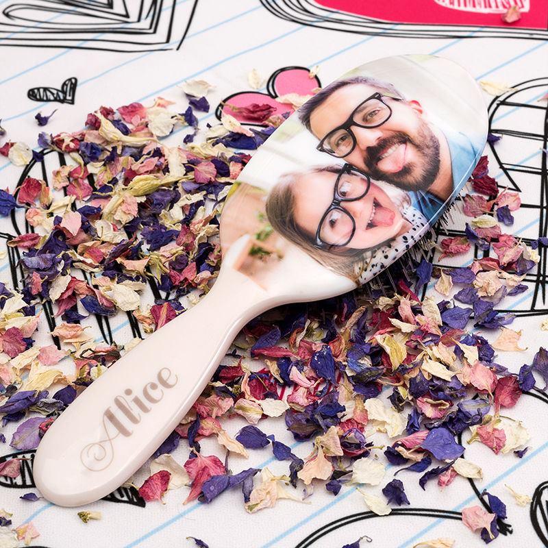 personalised hair brush for ladies