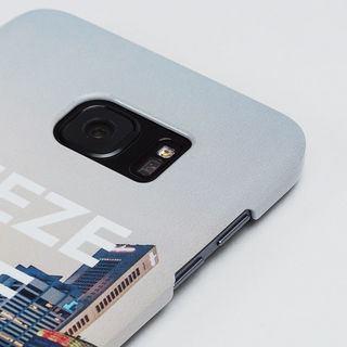 dettaglio stampa foto su cover galaxy s7 edge