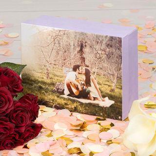 fotobox selbst gestalten fotoschachtel bedrucken. Black Bedroom Furniture Sets. Home Design Ideas