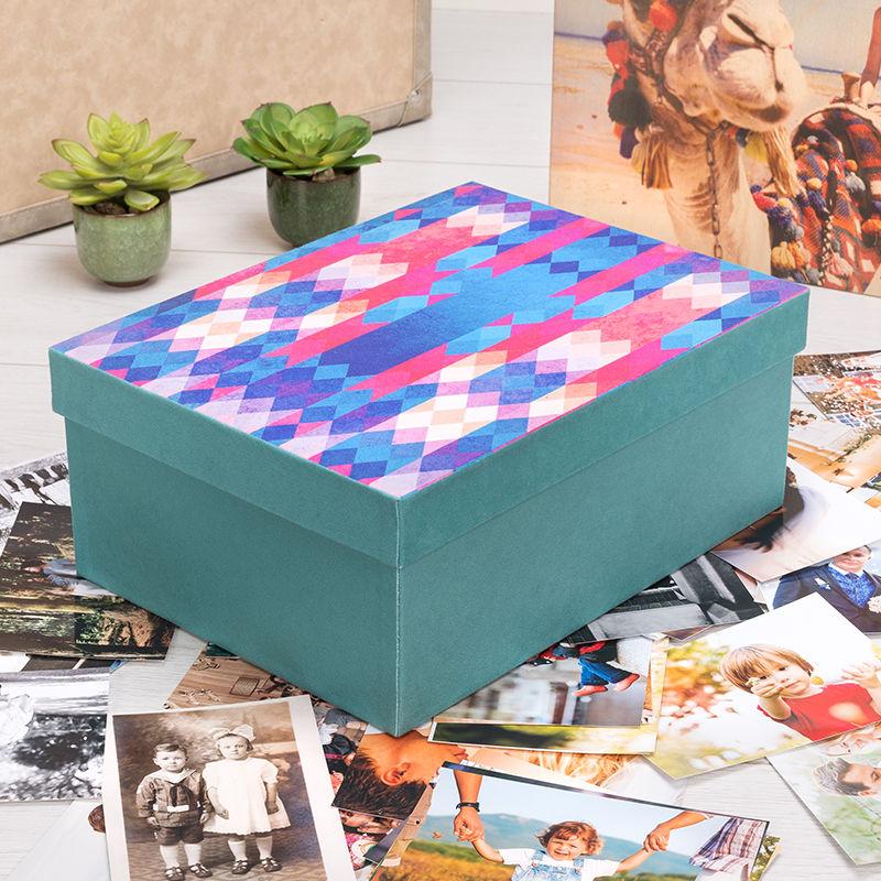fotobox selber machen fotoschachtel bedrucken lassen. Black Bedroom Furniture Sets. Home Design Ideas