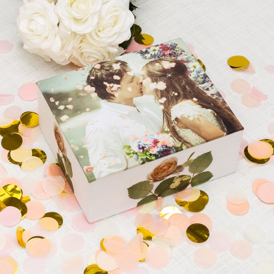 photo trinket box for weddings