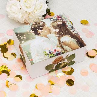 Scatola per gioielli personalizzata matrimonio