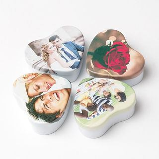 heart favour mini tin box