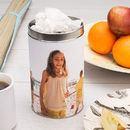 tea bag tin printed with your photos