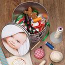 Christmas Gift Round tin