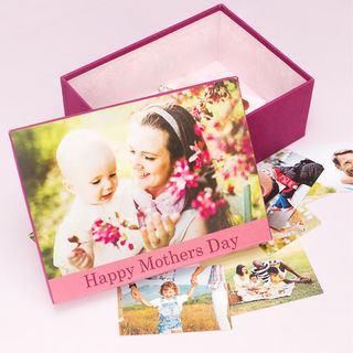 Mother's Day photo box print your own