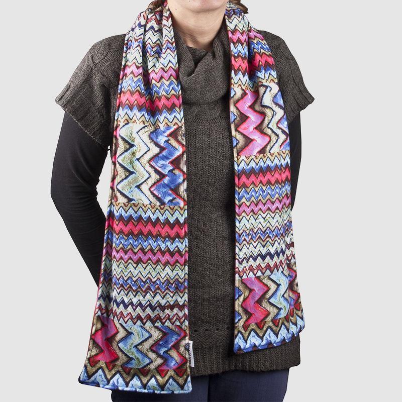 Schal selbst gestalten. Personalisierten Schal bedrucken.
