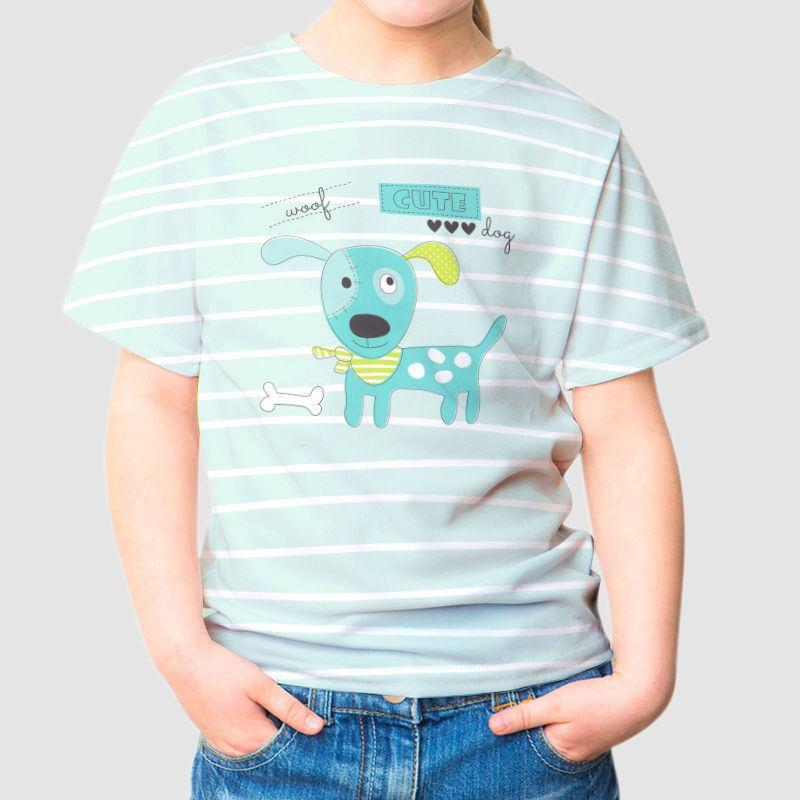 Bedrucken Sie Kinder-T-Shirts in der Promotique by Vistaprint, um Werbung für Ihr Unternehmen zu machen. Niedrige Mindestmengen, große Auswahl und hohe Qualität garantiert. Laden Sie einfach Ihr Logo hoch und gestalten Sie jetzt Ihre personalisierten Kinder-T-Shirts! Vistaprint.