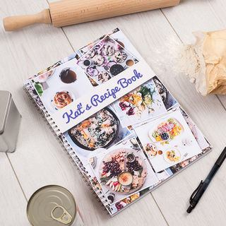 Photo Notebook recipe book