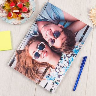 quaderno ad anelli personalizzato con foto