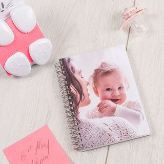 baby Printed spiral note book