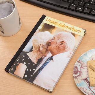 Adressbuch mit Foto