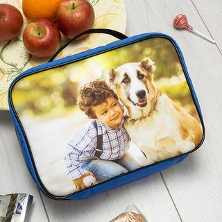 porta pranzo personalizzato con foto