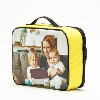 handgefertigte Pausenbrot-Tasche