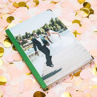 personalisiertes Notizbuch als Hochzeitsplanner