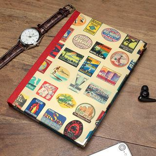 Travel journal design notebook