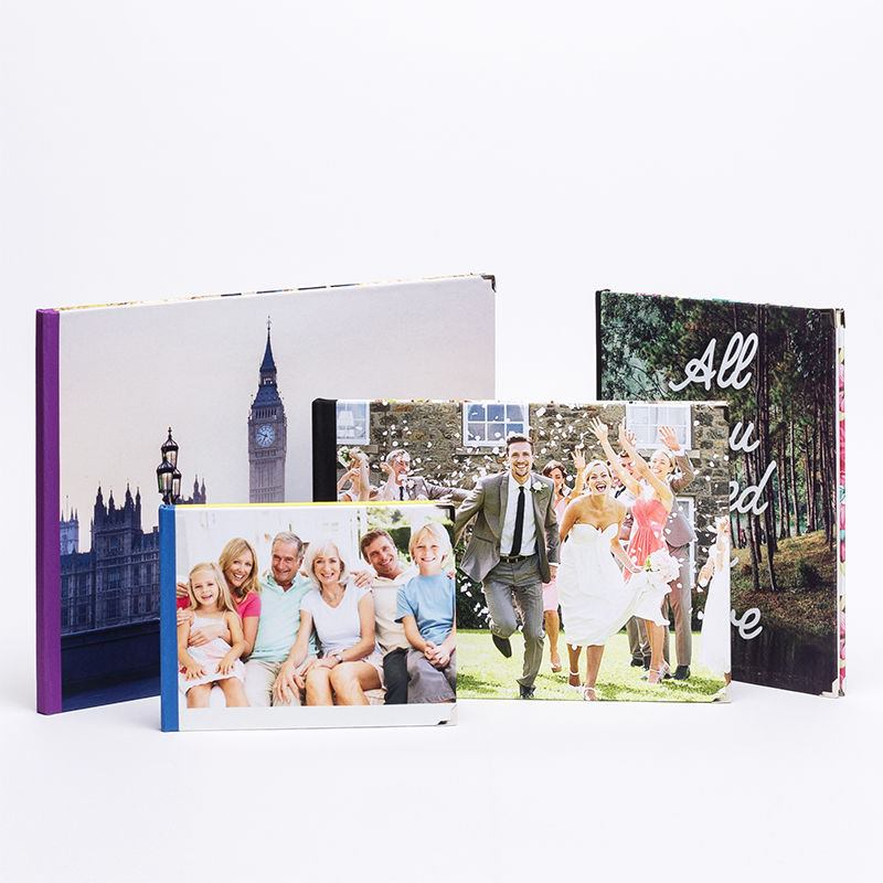 Photo Book Guest Book: Personalised Guest Books. Custom Visitor Guest Books For