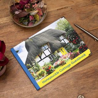 Bed and Breakfast Personalised Guest book