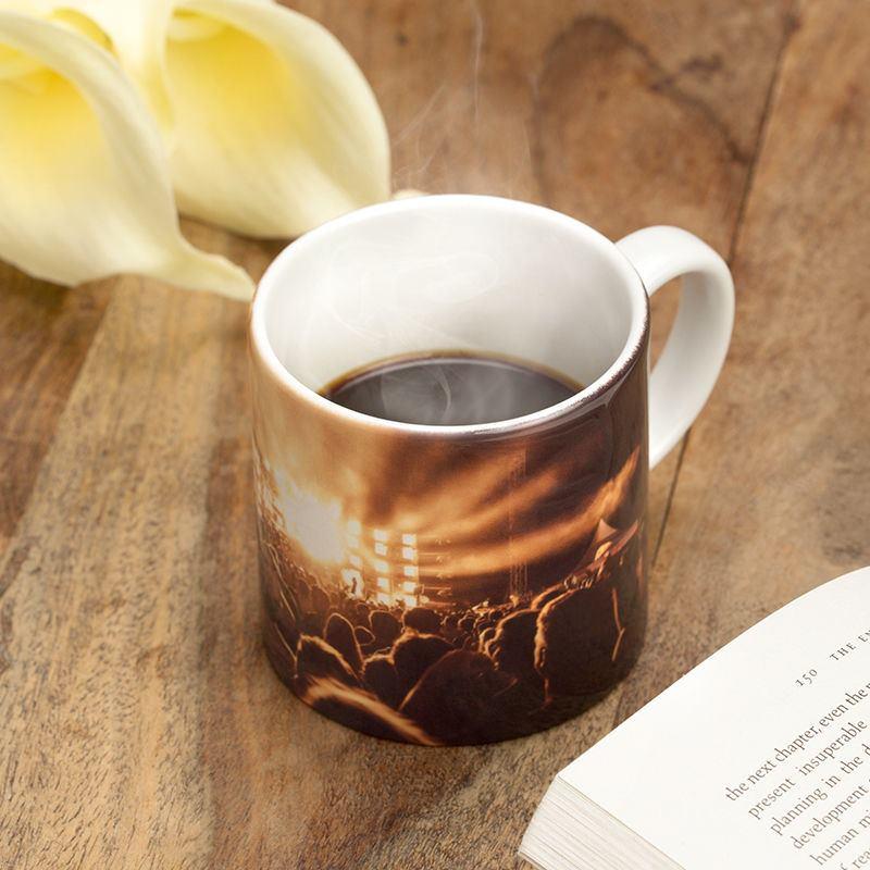 tasse photo tasse personnalis e avec photo et soucoupe blanche. Black Bedroom Furniture Sets. Home Design Ideas