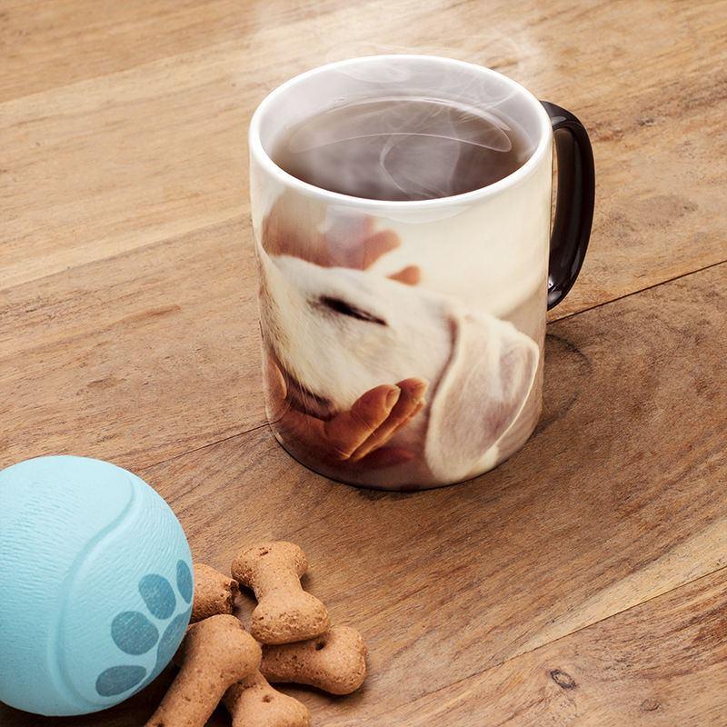 mug magique personnalis avec une photo remise sur quantit. Black Bedroom Furniture Sets. Home Design Ideas