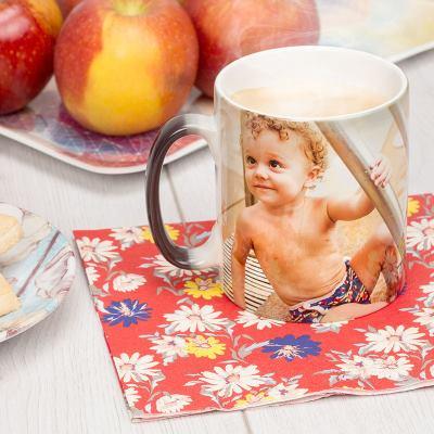 taza magica de fotos