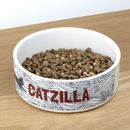 Cat bowl printed with name
