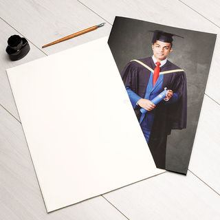 Graduation card giant photo card