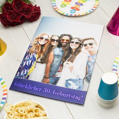 A3 Geburtstagskarte