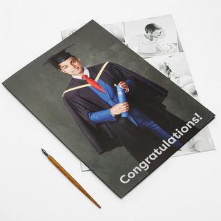 Congratulations graduate giant card