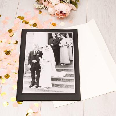 felicitación gigante de boda