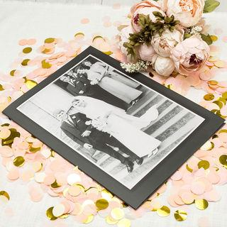 personalised A3 greeting Card wedding anniversary