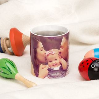 Print your own baby photos  mug