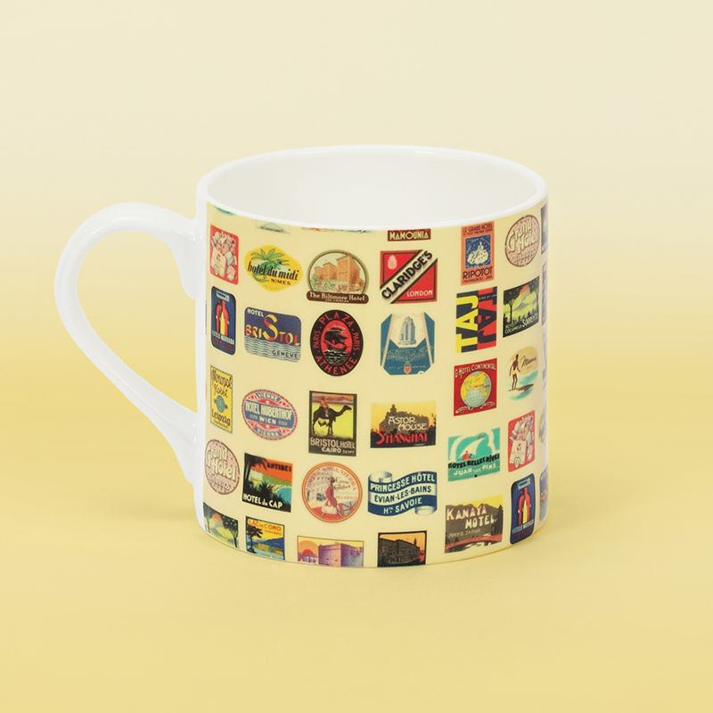 Personalised china mugs fine bone china mugs personalised for Handmade mug designs