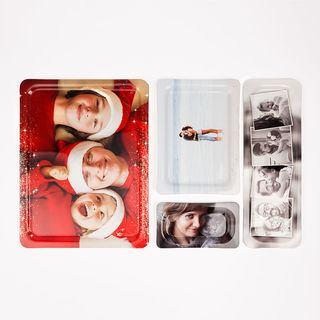 printed photo tray