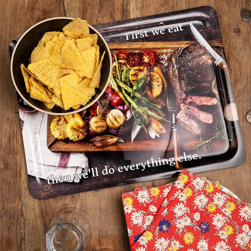 Personalised lap tray